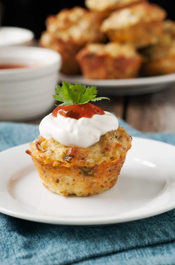 Check out this recipe for breakfast Mexican mini quiches. Yummy! #RecipeIdeas @recipes_to_go