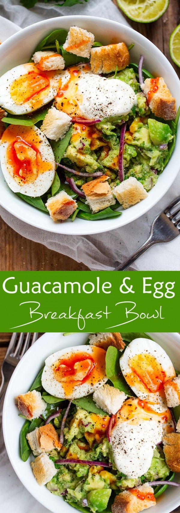 Check out this recipe for breakfast guacamole and egg bowl. Yummy! #RecipeIdeas @recipes_to_go