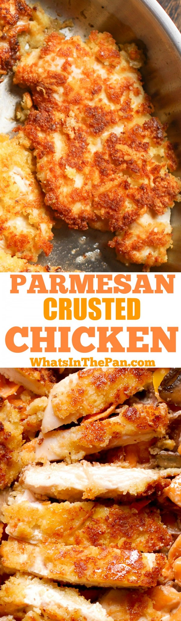 50 Best Chicken Recipes Ever - Check out this recipe for Parmesan crusted chicken. Yummy! #RecipeIdeas @recipes_to_go