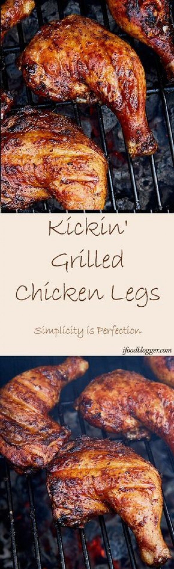 50 Best Chicken Recipes Ever - Check out this recipe for grilled chicken legs. Yummy! #RecipeIdeas @recipes_to_go