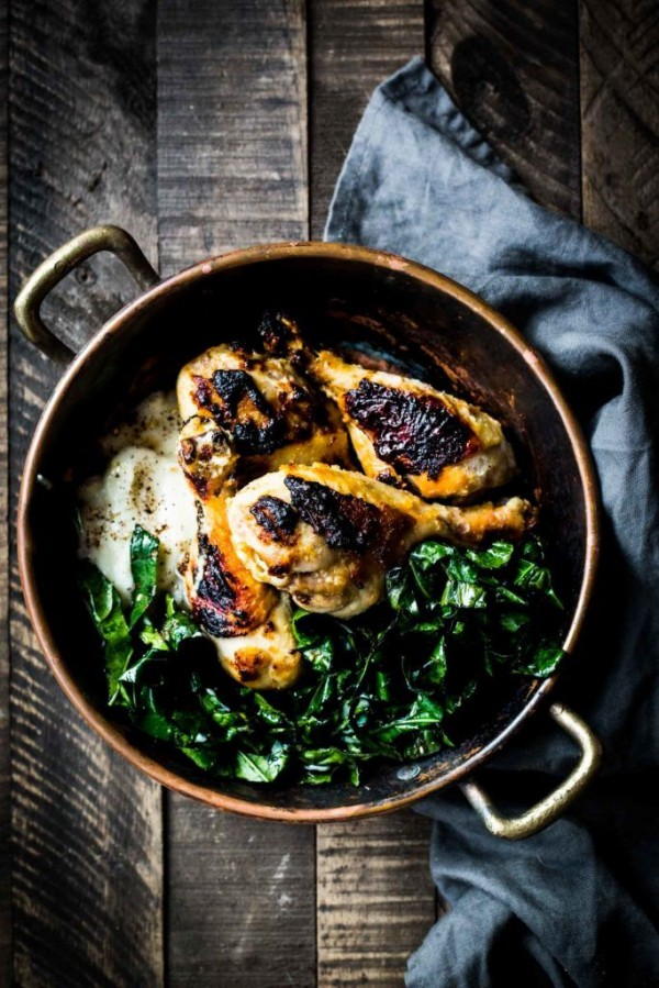 50 Best Chicken Recipes Ever - Check out this recipe for Miso chicken cauliflower mash. Yummy! #RecipeIdeas @recipes_to_go