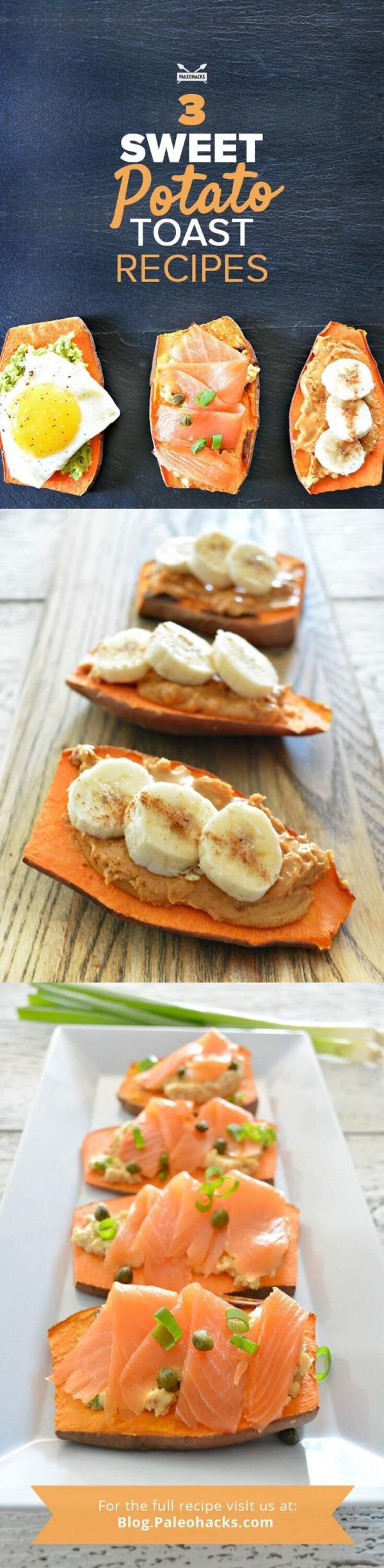 Check out this recipe for breakfast sweet potato toast. Yummy! #RecipeIdeas @recipes_to_go