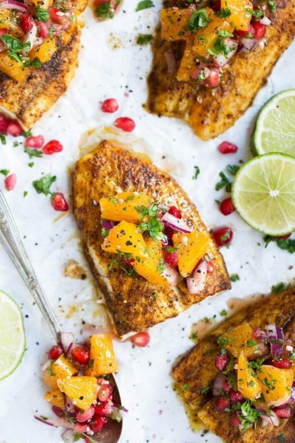 Check out this recipe for broiled barramundi with citrus salsa. Yummy! #RecipeIdeas @recipes_to_go