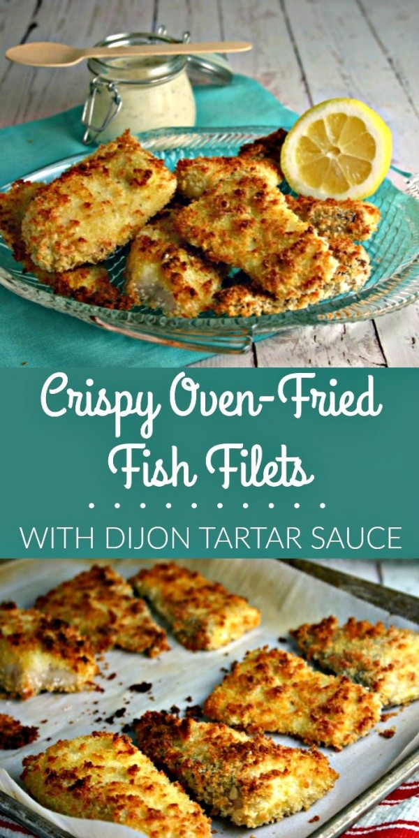 Check out this recipe for crispy oven fried fish fillets. Yummy! #RecipeIdeas @recipes_to_go