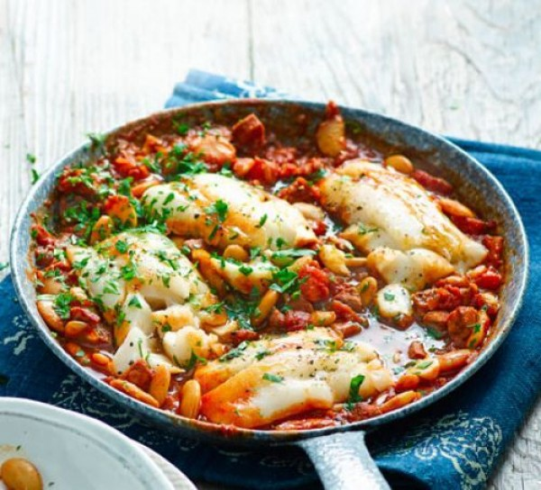 Check out this recipe for cod and Chorizo stew. Yummy! #RecipeIdeas @recipes_to_go