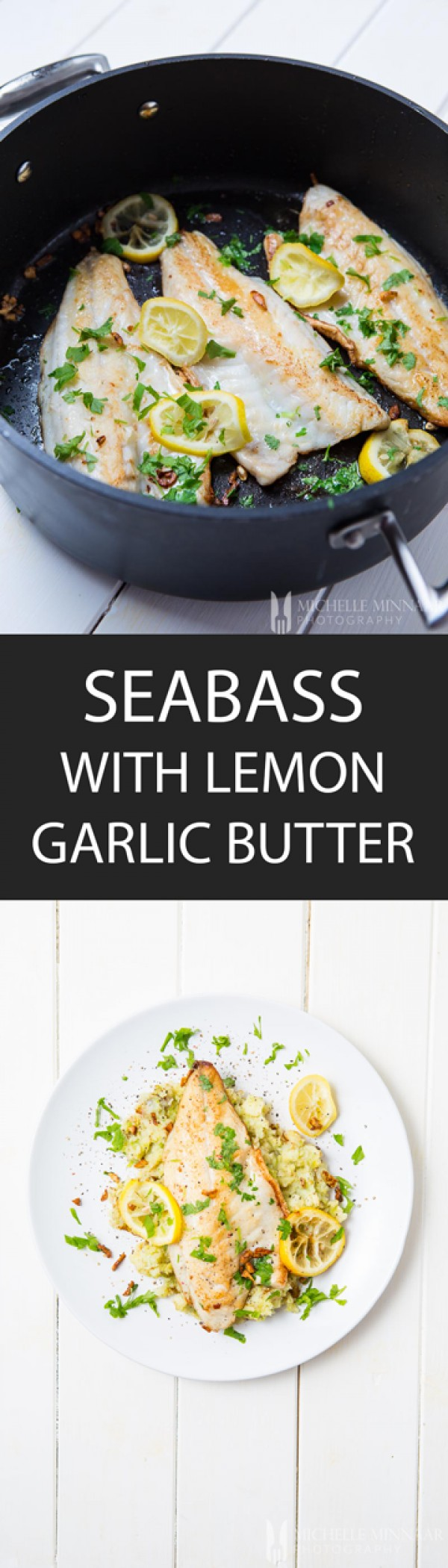 Check out this recipe for seabass with lemon garlic butter. Yummy! #RecipeIdeas @recipes_to_go