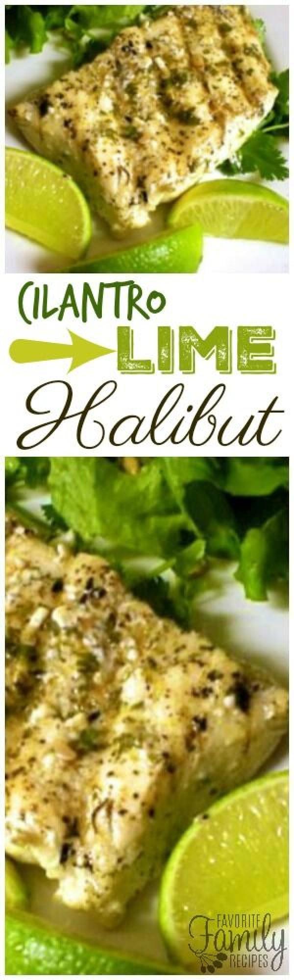 Check out this recipe for cilantro lime halibut. Yummy! #RecipeIdeas @recipes_to_go