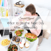what to do the next day after overeating